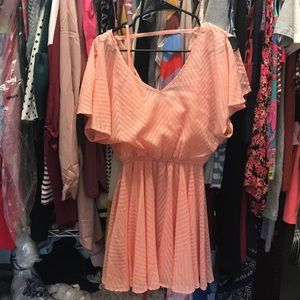 Peach/pink GB dress